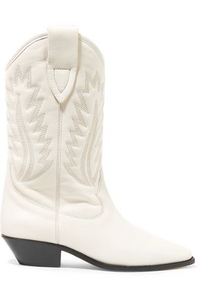 ISABEL MARANT ÉTOILE Étoile Dallin embroidered leather boots