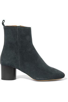 ISABEL MARANT Étoile Deyissa suede ankle boots
