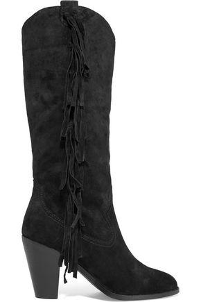 ASH Imala fringed suede boots