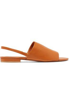VINCE. Dawson leather slingback sandals