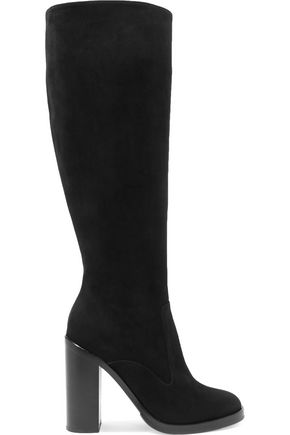 DOLCE & GABBANA Lawrence suede knee boots