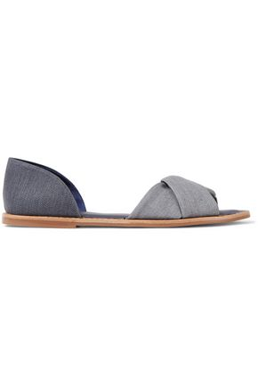 VINCE. Idara denim sandals