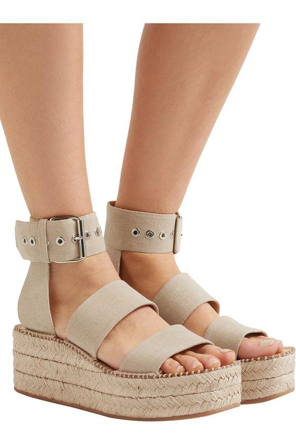 aa7d303ba95e Tara canvas platform espadrille sandals