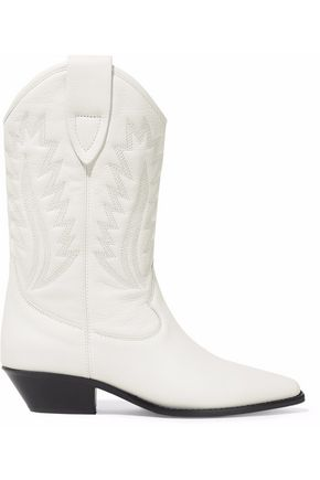 ISABEL MARANT ÉTOILE Embroidered leather boots