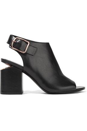 ALEXANDER WANG Nadia cutout leather slingback sandals