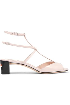FENDI Patent-leather sandals
