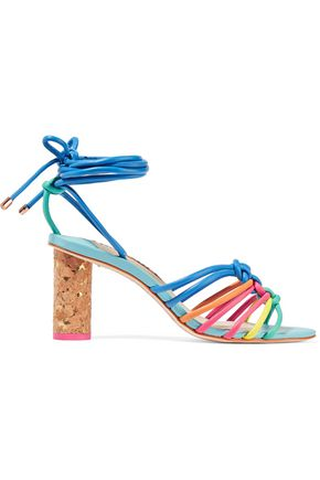 SOPHIA WEBSTER Copacabana knotted leather sandals