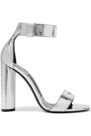 TOM FORD Metallic ayers sandals