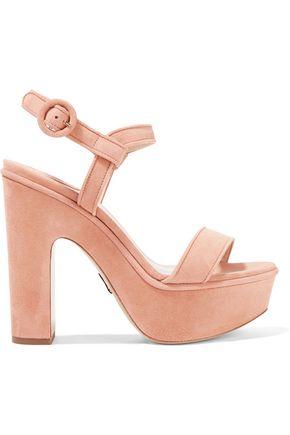 PAUL ANDREW Stanton suede platform sandals