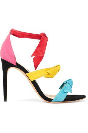 ALEXANDRE BIRMAN Lolita bow-embellished suede sandals