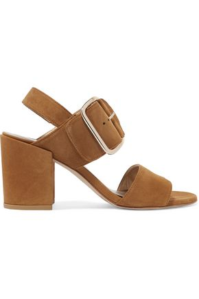 STUART WEITZMAN City suede sandals