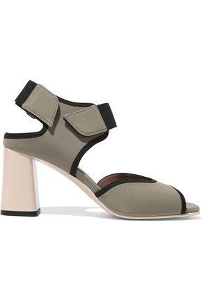 MARNI Elastic-trimmed neoprene sandals