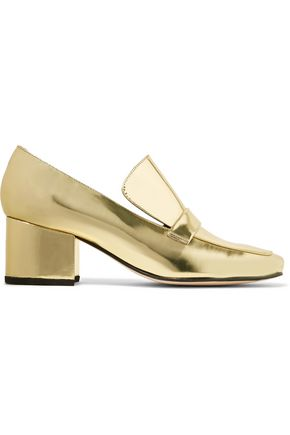 DORATEYMUR Turbojet two-tone patent-leather pumps