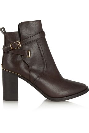 TORY BURCH Kayden leather ankle boots