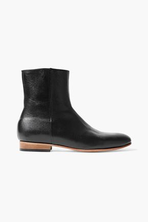 927ed19e6d0 DIEPPA RESTREPO Rod textured-leather ankle boots