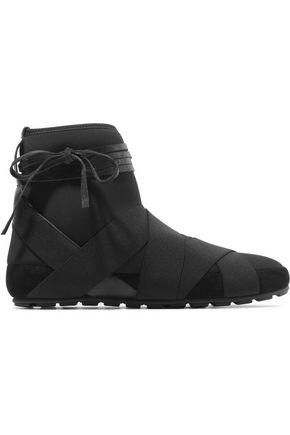 ISABEL MARANT ÉTOILE Moya wrap-around neoprene boots