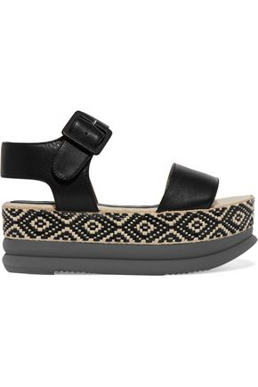 PALOMA BARCELÓ Talia leather espadrille sandals