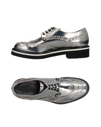 Фото - Обувь на шнурках от PACIOTTI 308 MADISON NYC свинцово-серого цвета