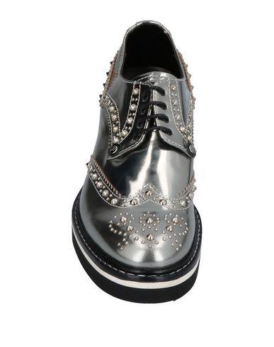 Фото 2 - Обувь на шнурках от PACIOTTI 308 MADISON NYC свинцово-серого цвета