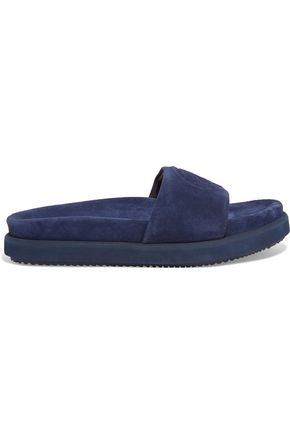 EYTYS Hacienda embossed suede slides