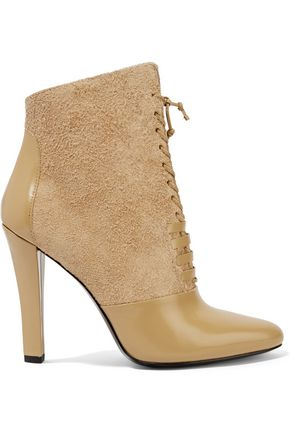 3.1 PHILLIP LIM Harleth leather and printed calf hair ankle boots