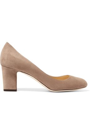 JIMMY CHOO Billie 65 suede pumps