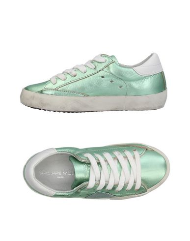 Sneackers Verde chiaro donna PHILIPPE MODEL Sneakers&Tennis shoes basse donna