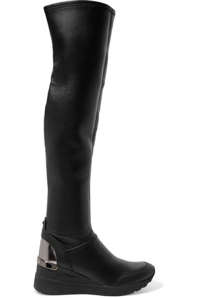 MICHAEL MICHAEL KORS Leather over-the-knee boots