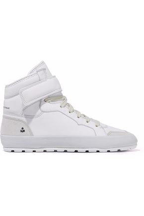 ISABEL MARANT Leather high-top sneakers