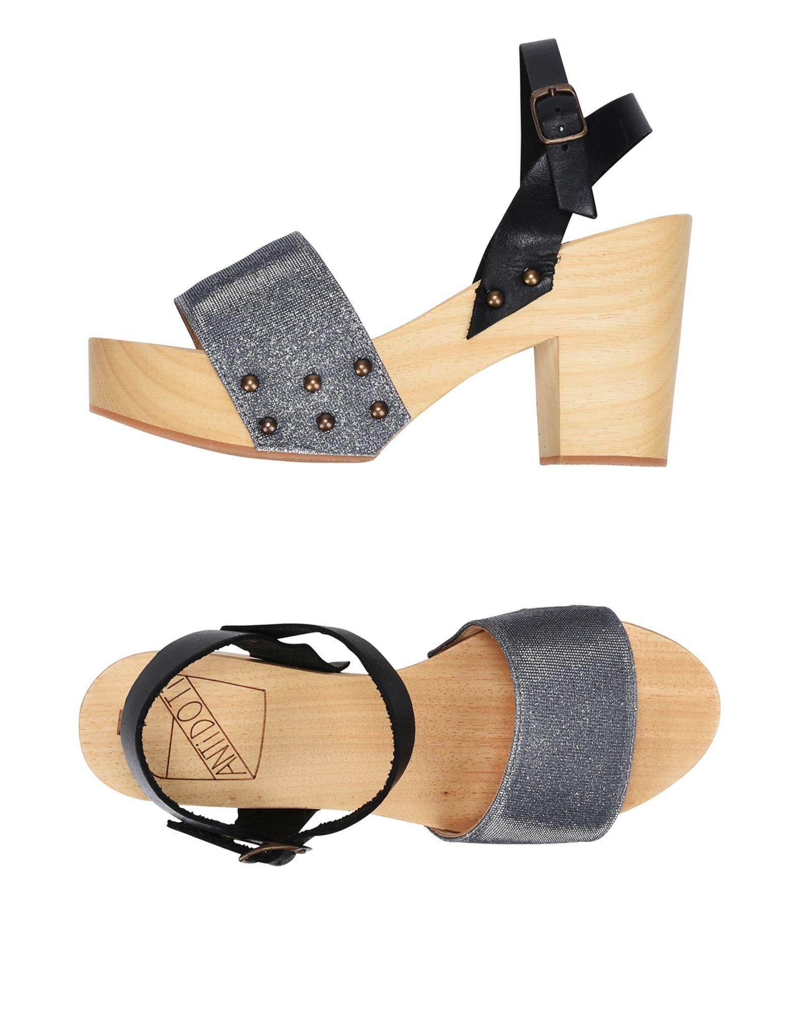 Фото - ANTIDOTI Мюлес и сабо antidoti сандалии