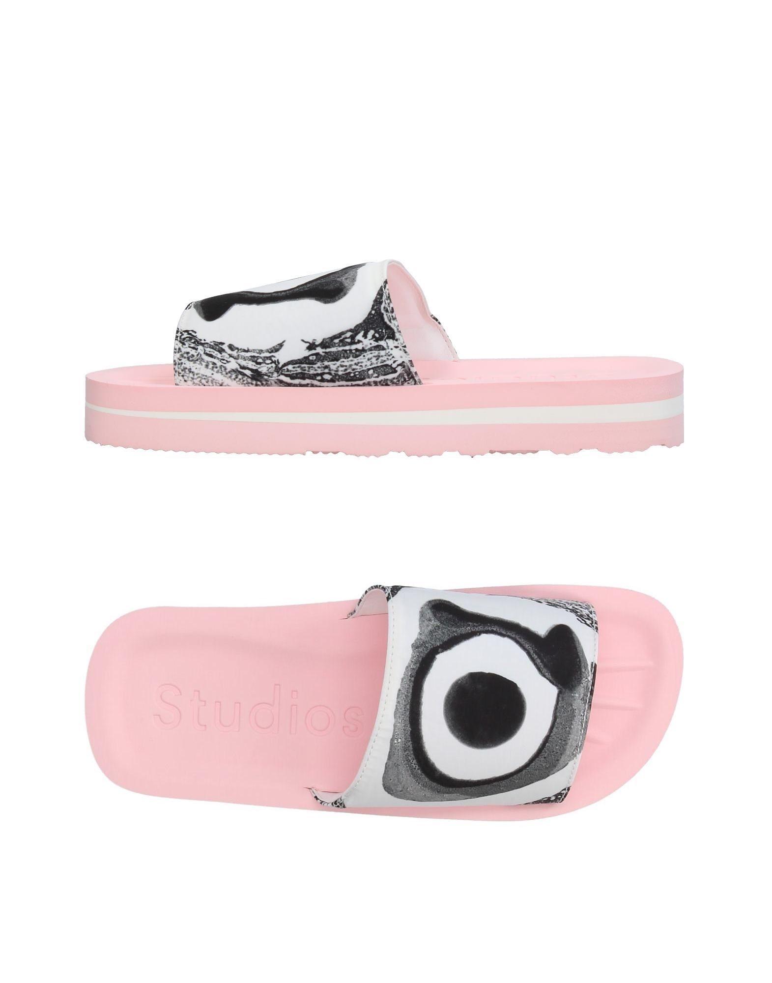 ACNE STUDIOS Домашние туфли цены онлайн
