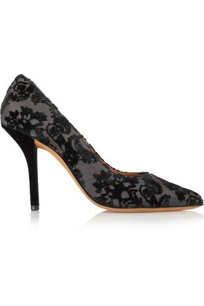 GIVENCHY Damasco flocked canvas pumps