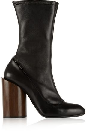 GIVENCHY Boots in black stretch-leather