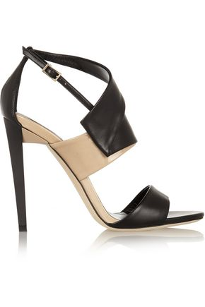 JIMMY CHOO Trapeze leather sandals