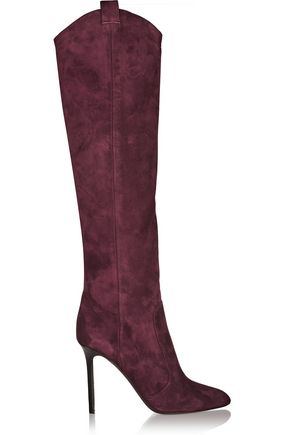 TAMARA MELLON Crazy Ride suede knee boots