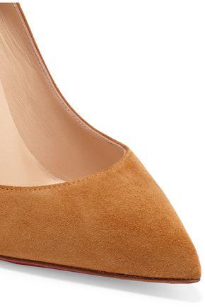 separation shoes dacbc 85792 Pigalle Follies 100 suede pumps | CHRISTIAN LOUBOUTIN | Sale ...