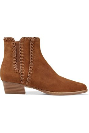 MICHAEL KORS COLLECTION Presley suede ankle boots