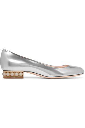 NICHOLAS KIRKWOOD Casati embellished patent-leather ballet flats