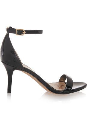 SAM EDELMAN Patti faux patent-leather sandals