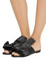 N°21 Knotted satin sandals