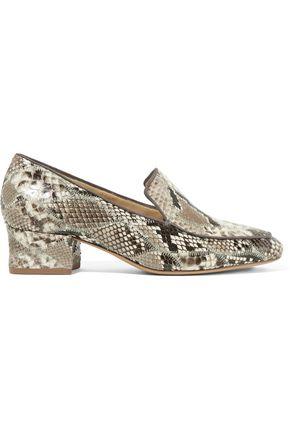 639d68d9315 Alexandre Birman Woman Python Loafers Gray