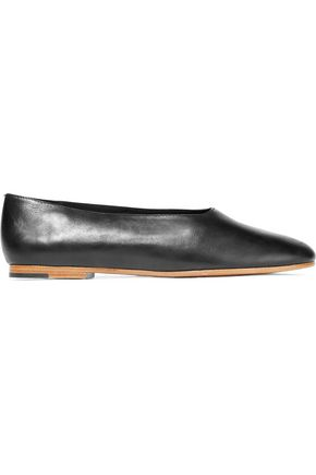VINCE. Maxwell leather ballet flats