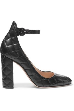GIANVITO ROSSI Quilted leather pumps