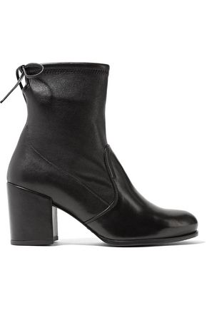 STUART WEITZMAN Shorty stretch-suede ankle boots