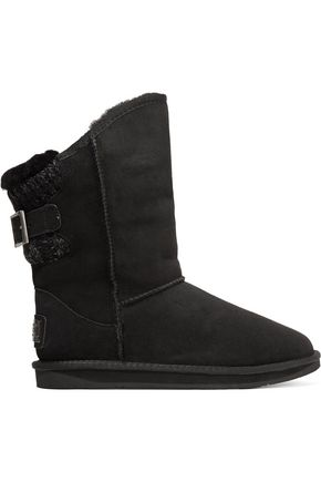 AUSTRALIA LUXE COLLECTIVE Spartan ribbed-paneled shearling boots