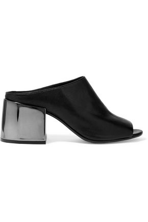 MM6 MAISON MARGIELA Textured-leather mules