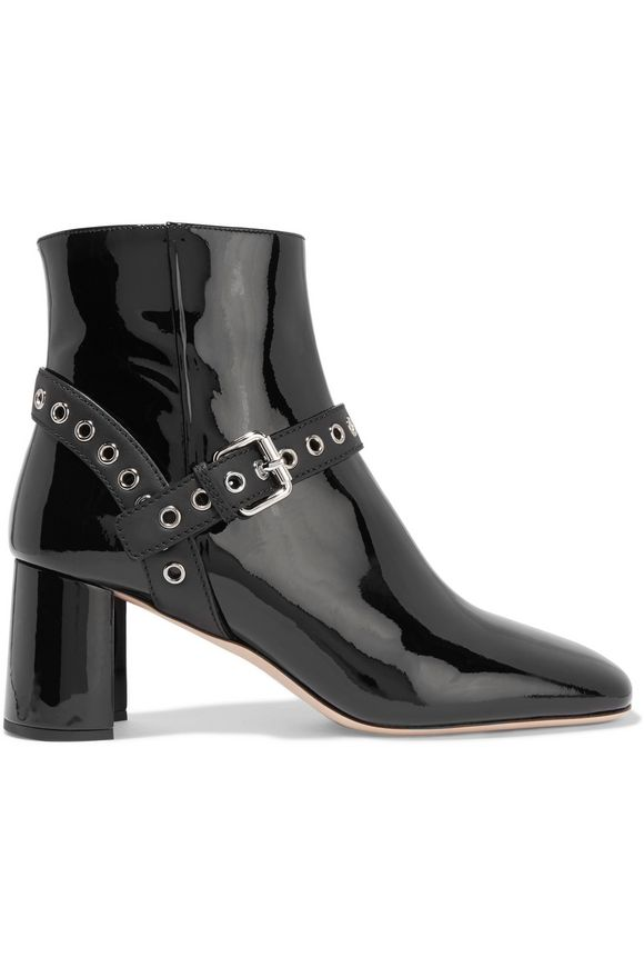 Boots for Women, Booties On Sale, Black, Velvet, 2017, 6 Miu Miu