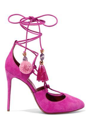 fringed embellished sandals - Pink & Purple Dolce & Gabbana sCoev94U3