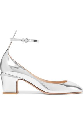 VALENTINO GARAVANI Tango mirrored-leather pumps