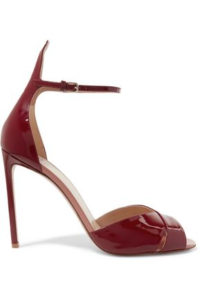 FRANCESCO RUSSO Patent-leather sandals